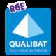 Certifié RGE (Reconnus Garant de l'Environnement)